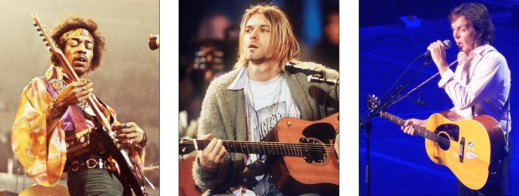 La Guitare en 3 Jours - Hendrix Cobain Mccartney