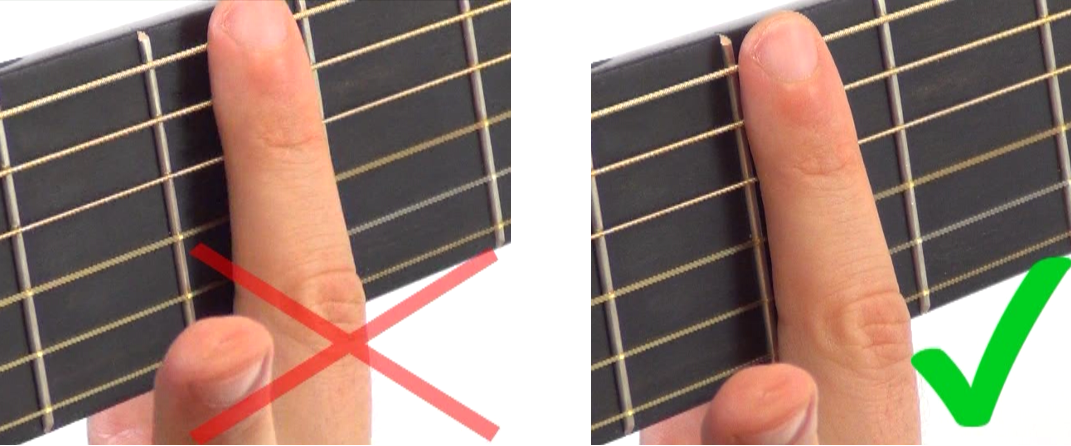 La Guitare en 3 Jours - comment faire sonner un barré frette
