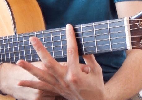 La Guitare en 3 Jours - comment faire sonner un barré posture