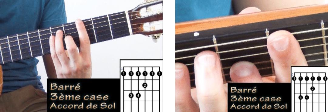 La Guitare en 3 Jours - comment faire sonner un barré