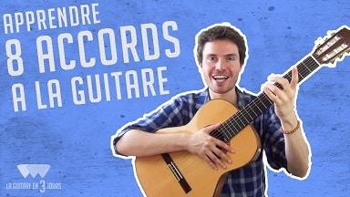 Débutant : 8 accords de guitare que vous devez connaitre – coaching