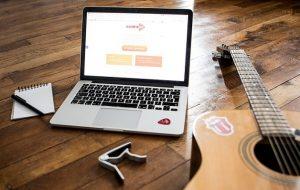 La Guitare en Ligne - meilleur cours de guitare en ligne pour débutant