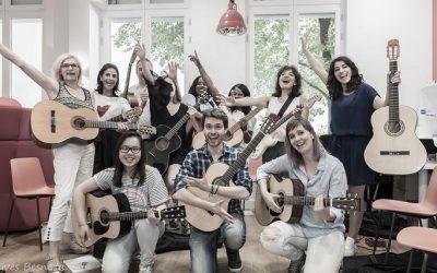 Le meilleur cours de guitare à Paris