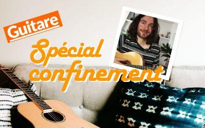 Suites d'accords de guitare pour rester positif
