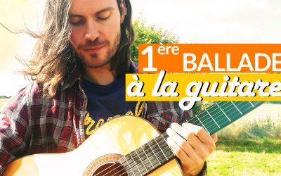 Apprendre un beau morceau de guitare facile avec arpèges, accords et rythme tuto guitare