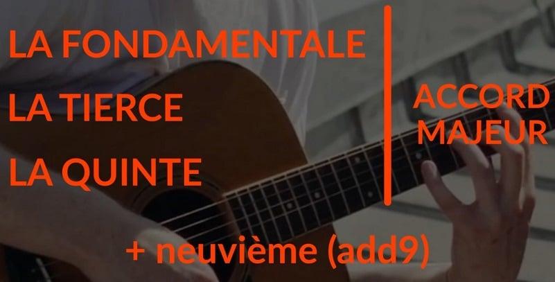 Comment jouer un accord add9 ou add2 - La Guitare en 3 Jours
