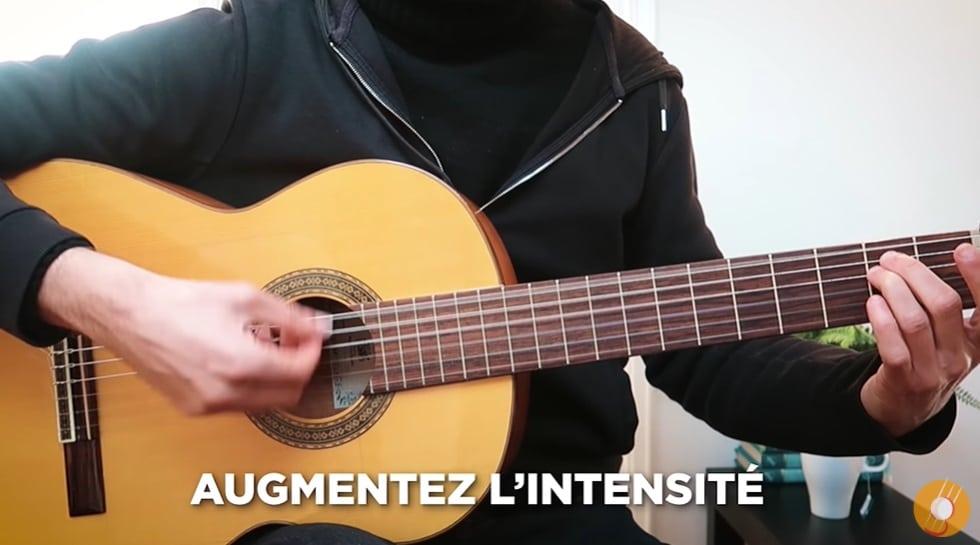 Améliorer le rythme avec l'intensité - La Guitare en 3 Jours