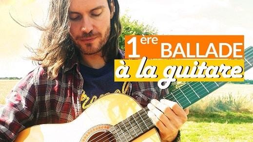 Apprendre un beau morceau de guitare facile avec arpèges, accords et rythme
