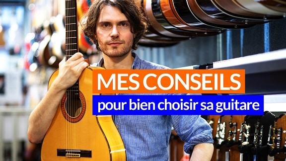 Comment choisir sa guitare pour débutant achat de guitare