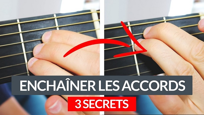 Comment mieux enchaîner les accords de guitare transitions
