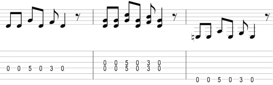 Bad to the Bone - 7 mélodies connues faciles à jouer votre premier cours de guitare débutant
