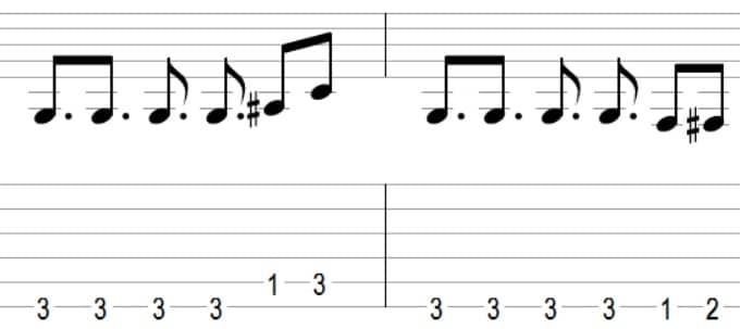 Mission Impossible theme - 7 mélodies connues faciles à jouer votre premier cours de guitare débutant