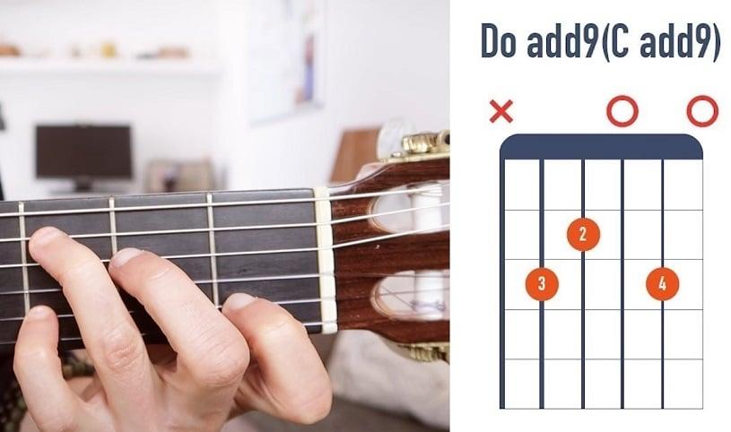 Accord de Do add9 à la guitare débutant - La Guitare en 3 Jours